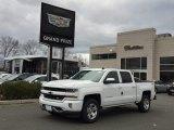 2017 Summit White Chevrolet Silverado 1500 LT Crew Cab 4x4 #117319025