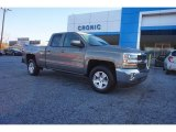 2017 Pepperdust Metallic Chevrolet Silverado 1500 LT Double Cab #117319373