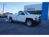 2017 Summit White Chevrolet Silverado 1500 WT Regular Cab #117319370