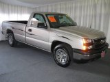 2006 Silver Birch Metallic Chevrolet Silverado 1500 Regular Cab #11724881