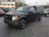 2014 Tuxedo Black Ford F150 XL Regular Cab 4x4 #117348337