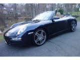 2007 Midnight Blue Metallic Porsche 911 Carrera 4S Cabriolet #117348248