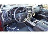 2017 Chevrolet Silverado 1500 LTZ Double Cab 4x4 Jet Black Interior