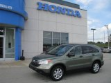 2009 Green Tea Metallic Honda CR-V EX 4WD #11711913
