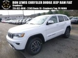 2017 Bright White Jeep Grand Cherokee Limited 4x4 #117365802