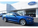 2017 Lightning Blue Ford Mustang V6 Coupe #117365859