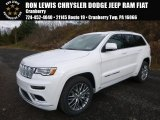 2017 Ivory Tri-Coat Jeep Grand Cherokee Summit 4x4 #117365798