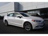 2017 White Platinum Ford Fusion SE #117365857