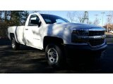 2017 Summit White Chevrolet Silverado 1500 WT Regular Cab 4x4 #117365675