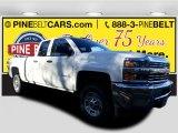 2017 Summit White Chevrolet Silverado 2500HD Work Truck Double Cab 4x4 #117365669
