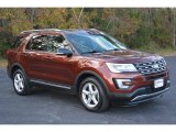 2016 Bronze Fire Metallic Ford Explorer XLT 4WD #117365949