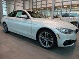 2016 BMW 4 Series Mineral White Metallic