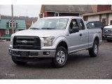 2017 Ingot Silver Ford F150 XL SuperCab 4x4 #117365874