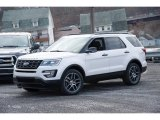 2017 White Platinum Ford Explorer Sport 4WD #117365871