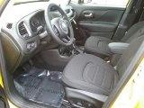2017 Jeep Renegade Latitude 4x4 Black Interior