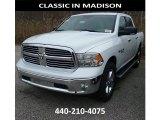 2017 Bright White Ram 1500 Big Horn Crew Cab 4x4 #117391524