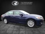 2013 Obsidian Blue Pearl Honda Accord EX-L V6 Sedan #117391398
