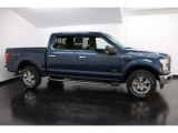 2016 Blue Jeans Ford F150 XLT SuperCrew 4x4 #117391288
