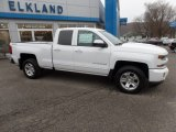 2017 Summit White Chevrolet Silverado 1500 LT Double Cab 4x4 #117391394