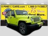2017 Hypergreen Jeep Wrangler Unlimited Sahara 4x4 #117412073