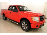 2014 Race Red Ford F150 STX SuperCab 4x4 #117412310