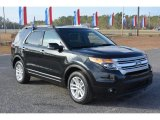 2014 Tuxedo Black Ford Explorer XLT 4WD #117412291