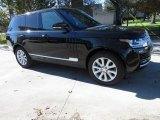 2016 Santorini Black Metallic Land Rover Range Rover HSE #117412331