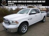 2017 Bright White Ram 1500 Laramie Crew Cab 4x4 #117434677