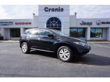 2014 Super Black Nissan Murano S #117434764