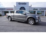 2015 Magnetic Metallic Ford F150 XLT SuperCab #117434763