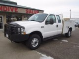 2004 Oxford White Ford F250 Super Duty XL SuperCab 4x4 #117434933