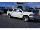 2017 Bright White Ram 1500 Laramie Crew Cab 4x4 #117434757
