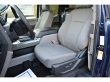 2017 Ford F150 XLT SuperCab Earth Gray Interior
