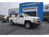 2017 Summit White Chevrolet Silverado 1500 WT Regular Cab #117434831