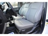 2017 Ford F150 XL Regular Cab Earth Gray Interior