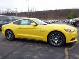 2017 Triple Yellow Ford Mustang GT Coupe #117434695