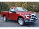 2016 Ruby Red Ford F150 XL Regular Cab #117434869