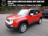 2017 Colorado Red Jeep Renegade Limited 4x4 #117434688