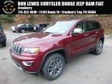 2017 Velvet Red Pearl Jeep Grand Cherokee Limited 4x4 #117434686