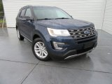 2017 Blue Jeans Ford Explorer XLT #117434781