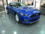 2017 Lightning Blue Ford Mustang V6 Coupe #117434778