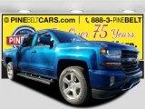 2017 Deep Ocean Blue Metallic Chevrolet Silverado 1500 LT Crew Cab 4x4 #117459644