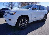 2017 Bright White Jeep Grand Cherokee Overland #117459788