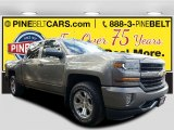 2017 Pepperdust Metallic Chevrolet Silverado 1500 LT Crew Cab 4x4 #117459643