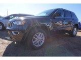 2017 Diamond Black Crystal Pearl Jeep Grand Cherokee Laredo 4x4 #117459787