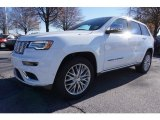 2017 Bright White Jeep Grand Cherokee Summit 4x4 #117459784