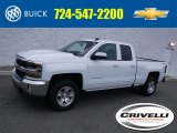 2017 Summit White Chevrolet Silverado 1500 LT Double Cab 4x4 #117459934