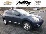 2013 Graphite Blue Nissan Rogue S AWD #117460065