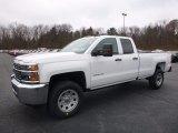 2017 Summit White Chevrolet Silverado 2500HD Work Truck Double Cab 4x4 #117459834