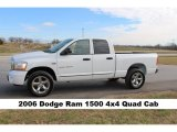 2006 Bright White Dodge Ram 1500 Laramie Quad Cab 4x4 #117460050